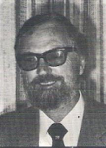 Author and Earhart researcher Oliver Knaggs, circa early 1980s.