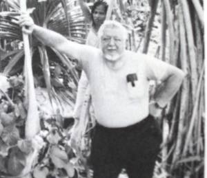 Vincent V. Loomis at Mili, 1979. In four trips to the Marshall Islands, Loomis collected considerable witness testimony indicating the fliers' presence there. His 1985 book, Amelia Earhart: The Final Story, is among the most important ever in establishing the presence of Amelia and Fred Noonan at Mili Atoll in the Marshall Islands on July 2, 1937.