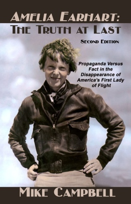 "The Second Edition of ""Amelia Earhart: The Truth at Last,"" is a large 7″ by 10″ paperback offering 370 pages at the same low retail price of $19.95.  The book  adds two chapters, a new foreword, several new subsections, the most recent discoveries, rare photos and a near-total rewrite to the mountain of overwhelming witness testimony and documentation presented in the first edition of ""Truth at Last. """