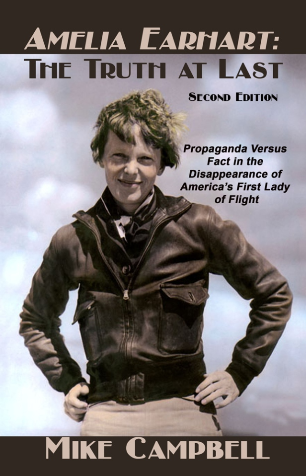 "The Second Edition of ""Amelia Earhart: The Truth at Last,"" is a large 7″ by 10″ paperback offering 370 pages at the same low retail price of $19.95, and significantly less at Amazon.com. The book adds two chapters, a new foreword, several new subsections, the most recent discoveries, rare photos and a near-total rewrite to the mountain of overwhelming witness testimony and documentation presented in the first edition of ""Truth at Last. """