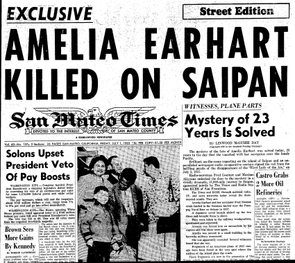 This headline from the San Mateo TImes of July 1, 1960, is as true today as it was then. For all intents and purposes