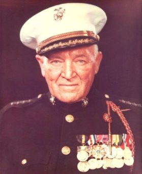 General Graves Erskine was advanced to four-star rank upon his retirement in 1953.